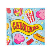 Carnival Napkins - Small