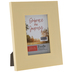 Light Yellow Distressed Wood Look Frame - 3 1/2