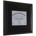 Black & Brown Wood Document Frame - 11
