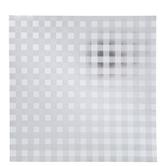 "Silver Gingham Foil Scrapbook Paper - 12"" x 12"""