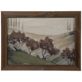Tuscan Landscape Wood Wall Decor