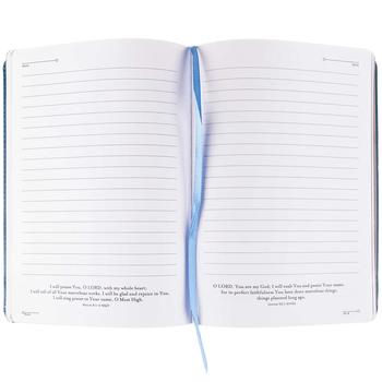 Blue Philippians 4:13 Journal