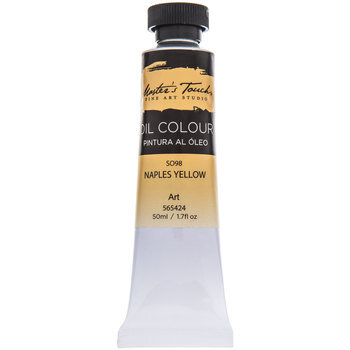 Naples Yellow Master's Touch Oil Paint - 1.7 Ounce