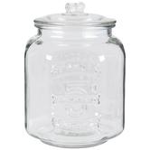 Salted Peanuts Glass Jar