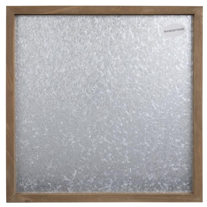 Galvanized Metal Magnet Board Wall Decor Hobby Lobby 1294982
