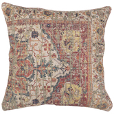 Asymmetrical Tapestry Pillow Cover