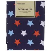 Red, White & Blue Star Fat Quarter