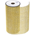 Gold Rhinestone Mesh Trim - 6