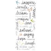 Handwritten Inspiration Stickers