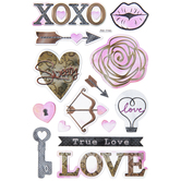 Translucent True Love Stickers