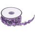 Lavender Rosette Trim - 1/2