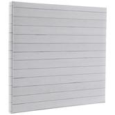 White Shiplap Post Bound Scrapbook Album