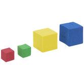 Multi-Color Foam Cubes