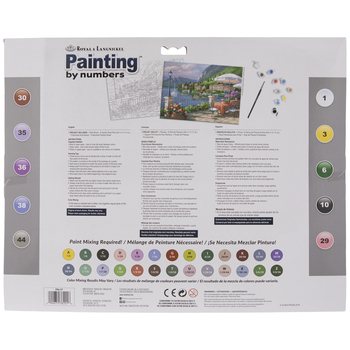 Sunday Brunch Paint By Number Kit