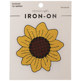 Sunflower Iron-On Applique