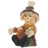 Scarecrow With Harvest