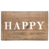 Happy Wood Decor