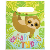 Sloth Zipper Bags With Handles