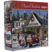 Classic Christmas Country Store Puzzle