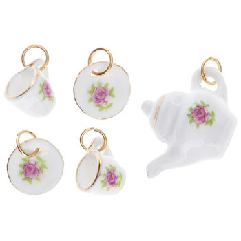 Tea Set Charms