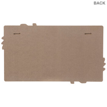 White Greenery Corkboard