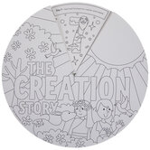 The Creation Story Color Me Wheels Craft Kit