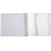 Cream Linen Post Bound Scrapbook Album - 12