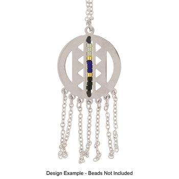 CenterLine Circle Dreamcatcher Necklace