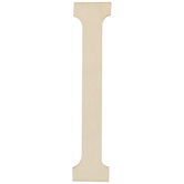 """Vintage Sign Wood Letters I - 4"""""""