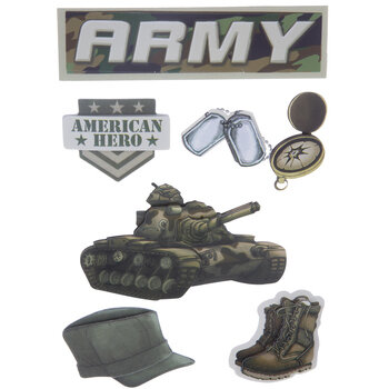 Army 3D Stickers