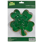 Four-Leaf Clover Cookie Cutters