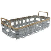 Galvanized Metal Basket