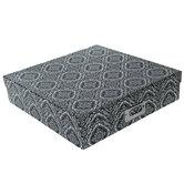 Black & White Ornate Tile Storage Box