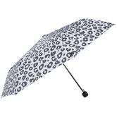 White & Black Cheetah Print Umbrella