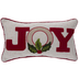 Joy With Holly Pillow