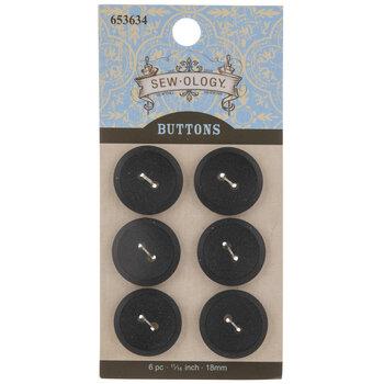 Matte Round Buttons