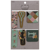 Sewing Magnetic Bookmarks