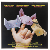 Finger Puppets Fold-By-Number Origami Paper