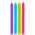 Bright Glitter Birthday Candles