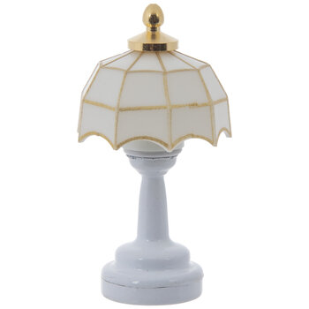 Miniature LED Tiffany Table Lamp