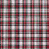 Red & Green Plaid Apparel Fabric