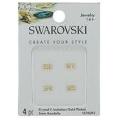 Swarovski Crystal F Rondelle Beads