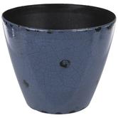 Distressed & Crackled Flower Pot