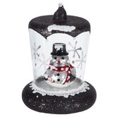 Snowman Snow Globe Ornament