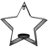 Gray Star Galvanized Metal Wall Sconce