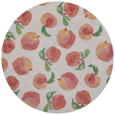 Watercolor Peaches Plate