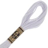 DMC Cotton Embroidery Floss - White