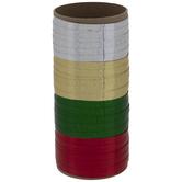 "Holographic & Metallic Curling Ribbon - 3/16"""