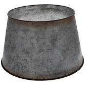 Galvanized Metal Tree Collar
