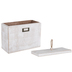 Whitewashed Rectangle Box - Large